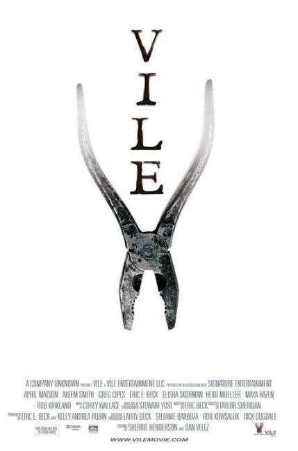 Vile (2011) poster