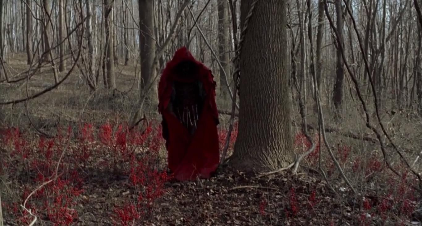 The mysterious creatures in the woods in The Village (2004)