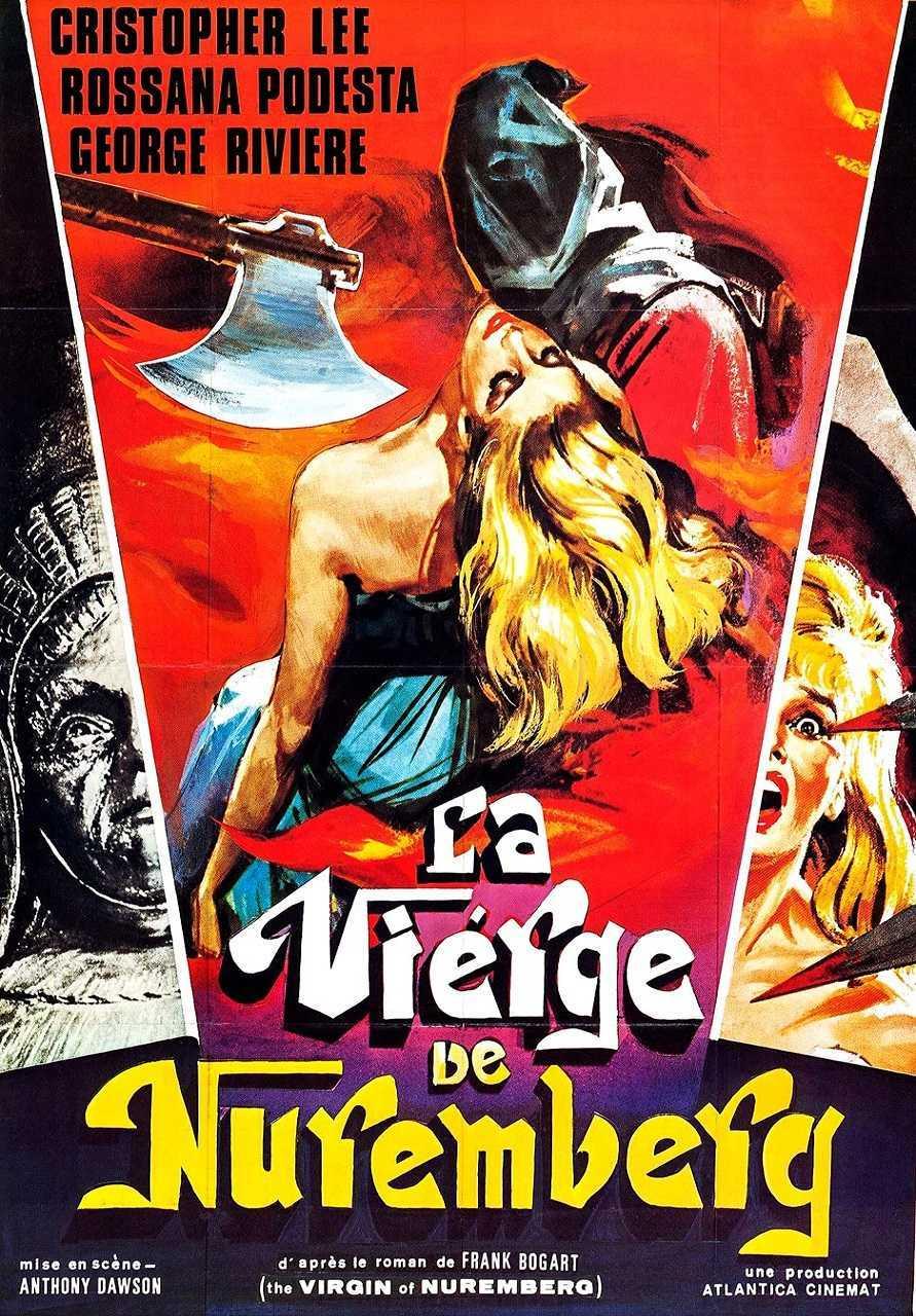 The Virgin of Nuremberg (1963) poster