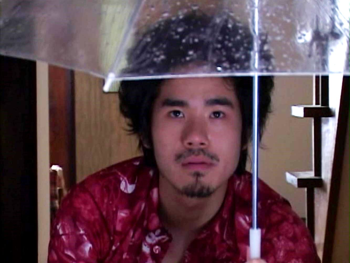 The mysterious Visitor (Kazushi Watanabe) in Visitor Q (2001)