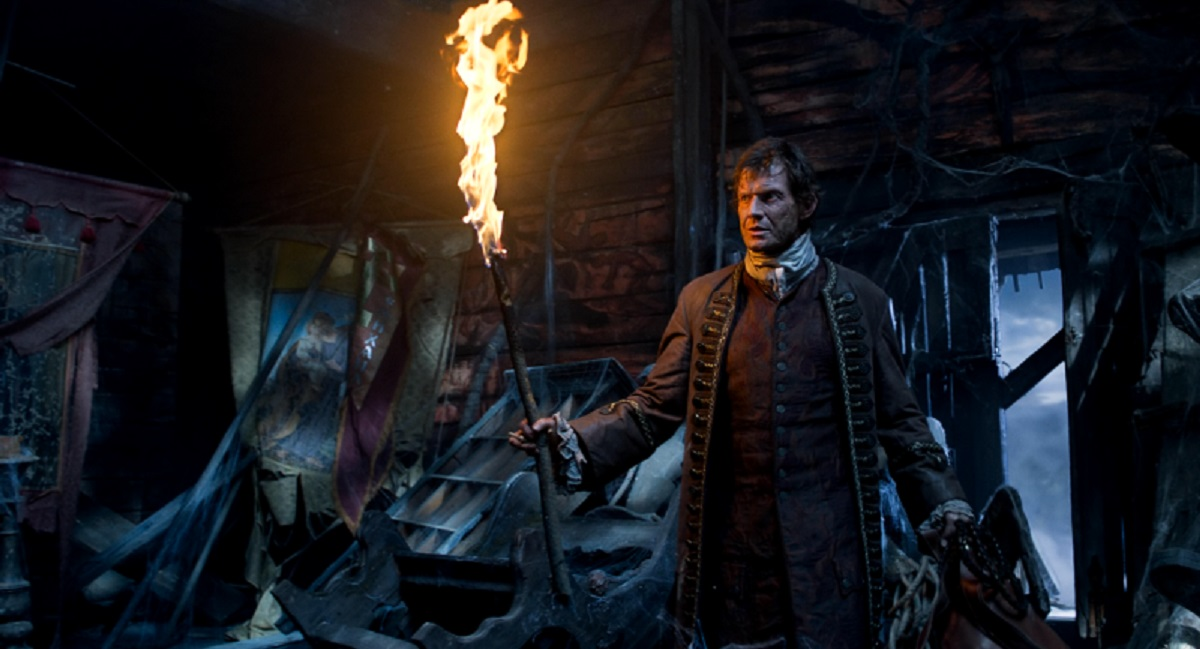 Cartographer Jason Flemyng ventures into the haunted church in Viy (2014)