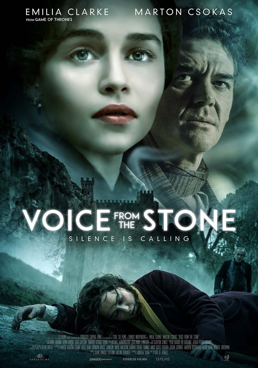 Voice from the Stone (2017) poster