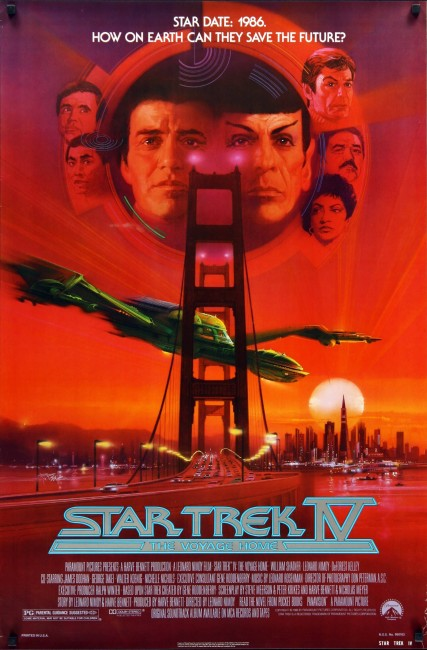 The Voyage Home: Star Trek IV (1986) poster