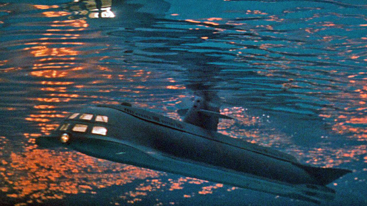 The submarine Seaview in Voyage to the Bottom of the Sea (1961)