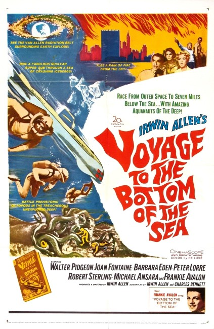 Voyage to the Bottom of the Sea (1961) poster