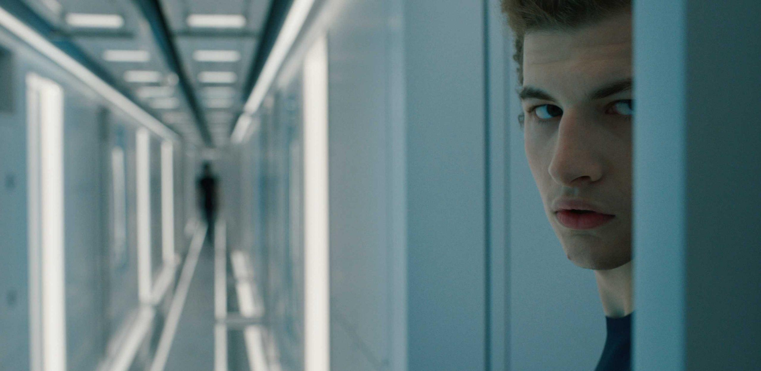 Christopher (Tye Sheridan) in Voyagers (2021)