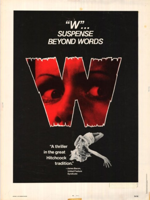 W (1974) poster