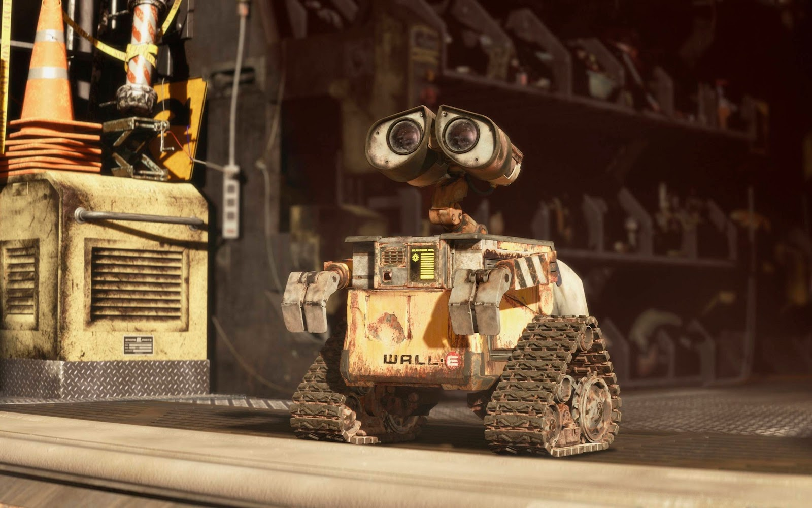 Wall-E (voiced by Ben Burtt) in Wall-E (2008)