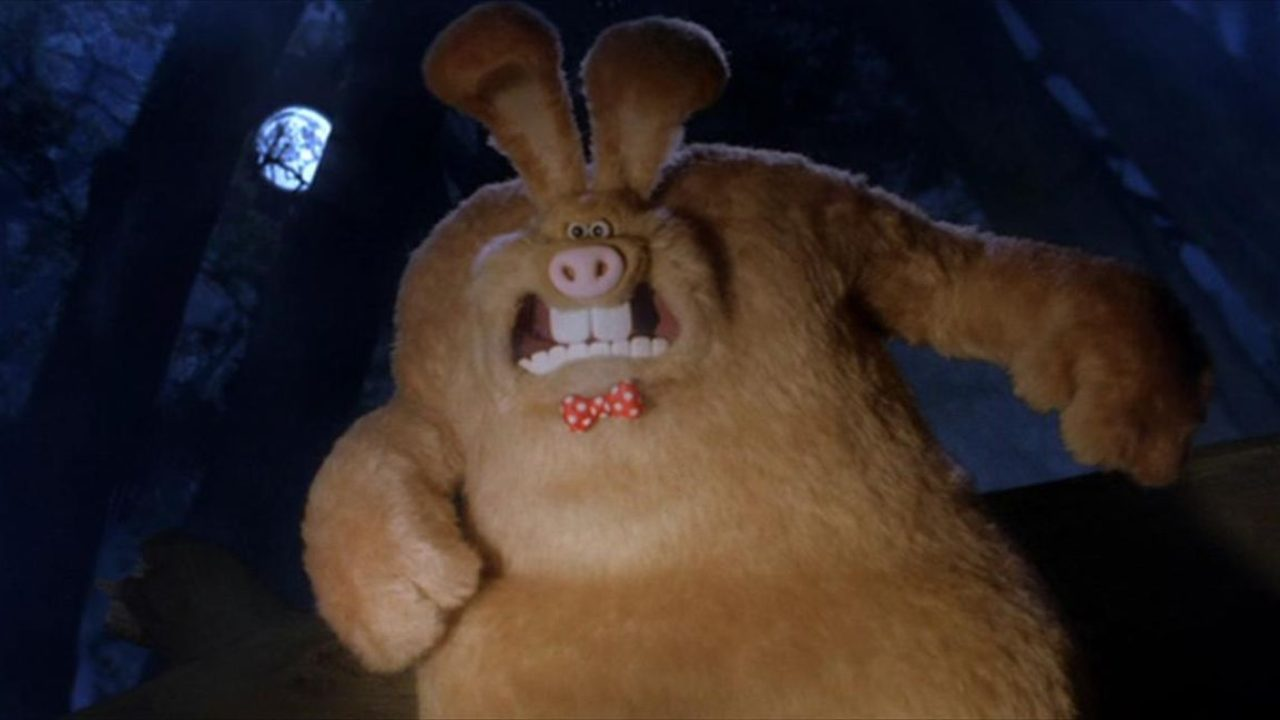 The were-rabbit in Wallace and Gromit in the Curse of the Were-Rabbit (2005)