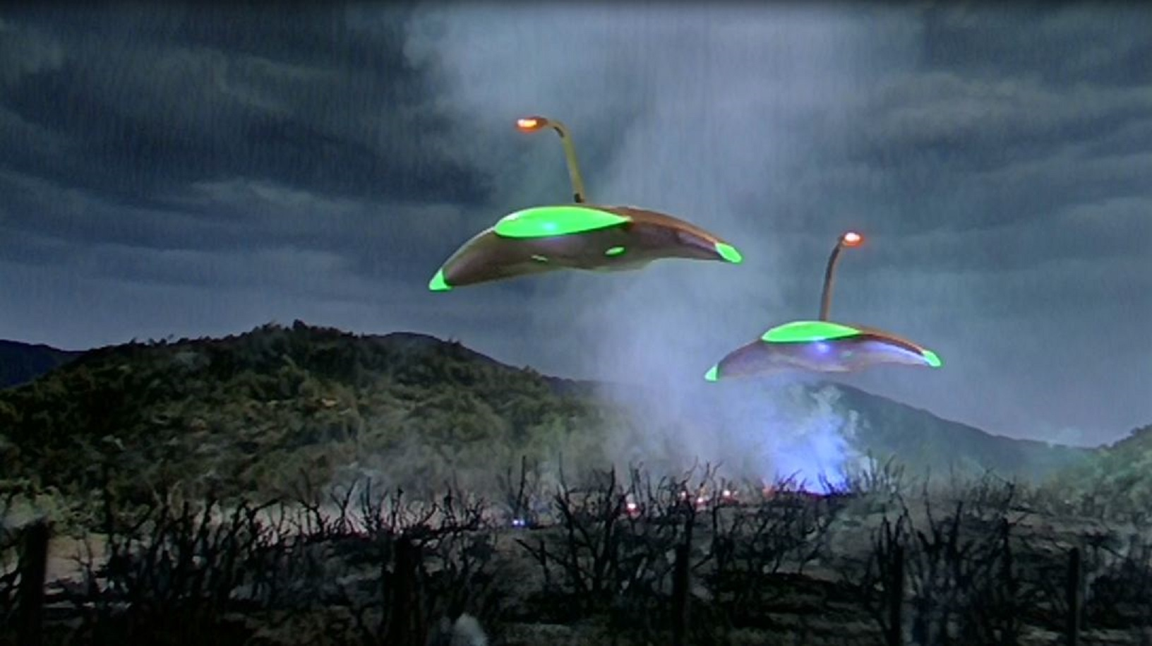 The Martian war machines in The War of the Worlds (1953)