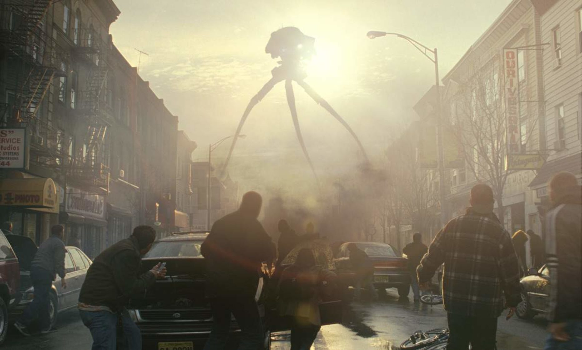 The Martian war machines in War of the Worlds (2005)
