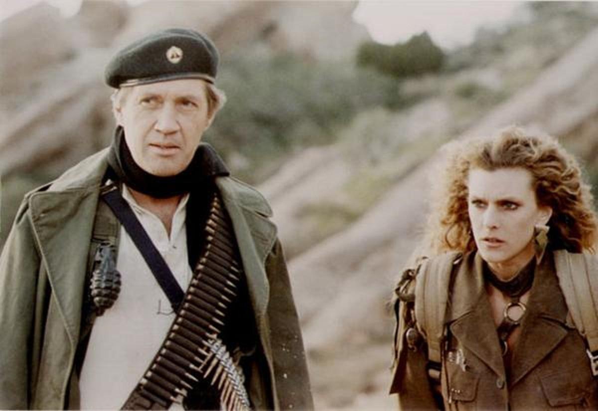 David Carradine, Dawn Wildsmith in Warlords (1988)
