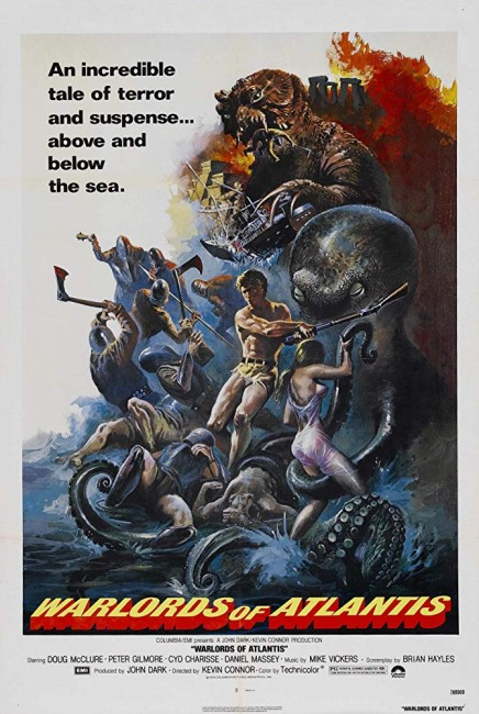 Warlords of Atlantis (1978) poster