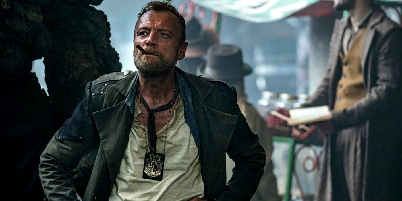 Richard Dormer as Captain Sam Vimes in The Watch (2020)