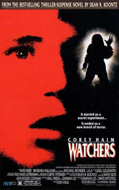 Watchers (1988) poster