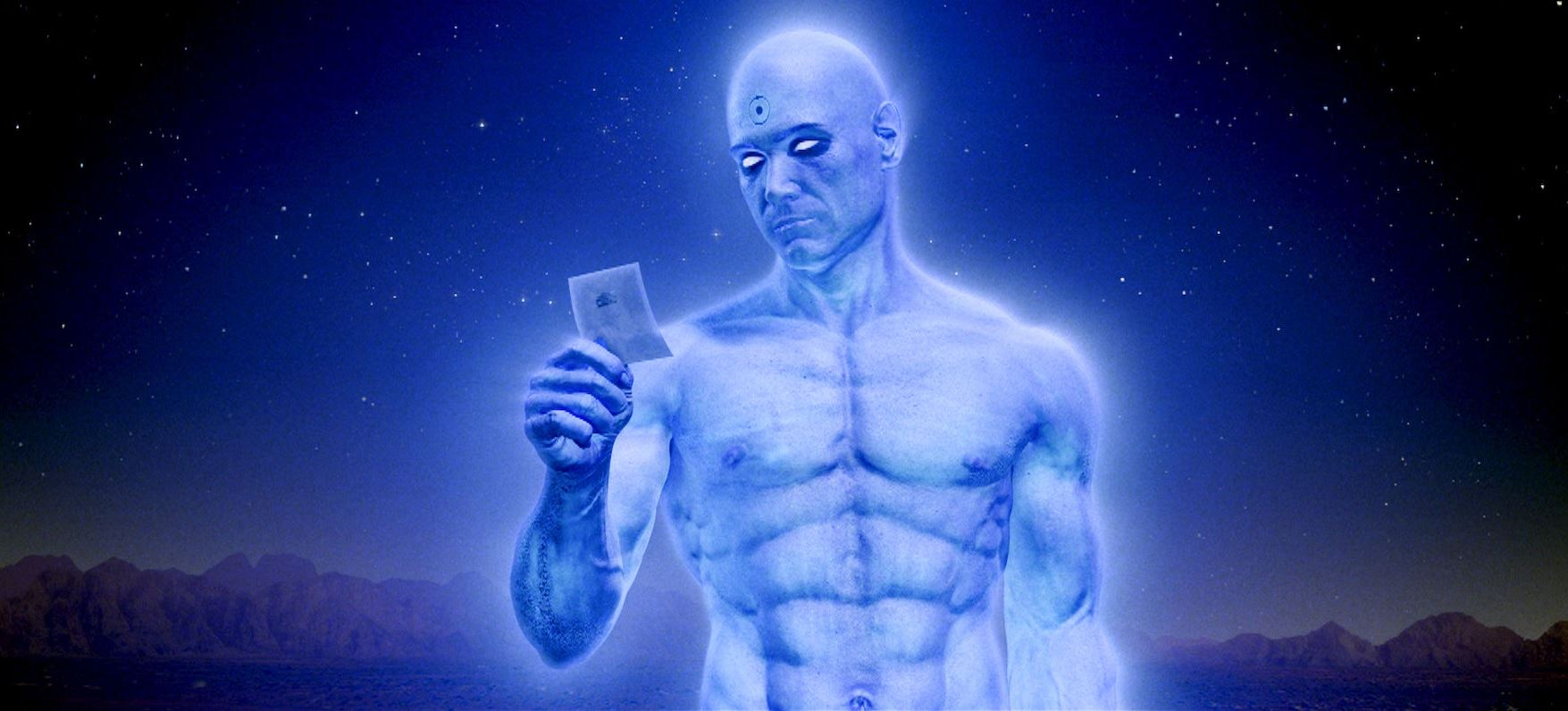 Billy Crudup as Dr Manhattan in Watchmen (2009)