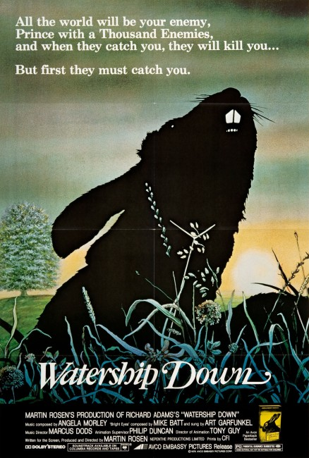 Watership Down (1978) poster