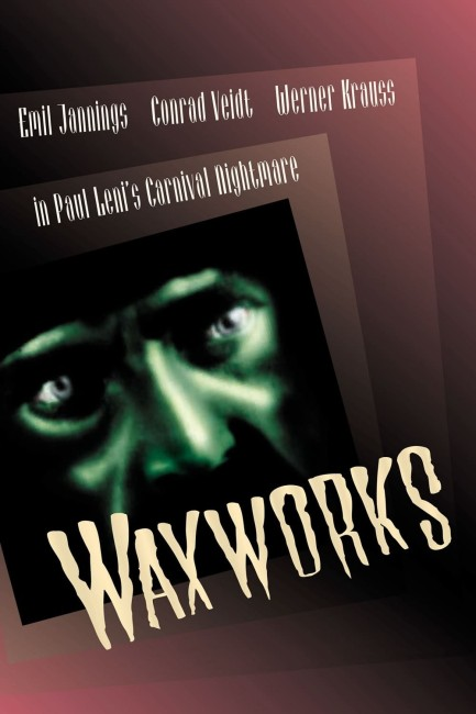 Waxworks (1924) dvd cover