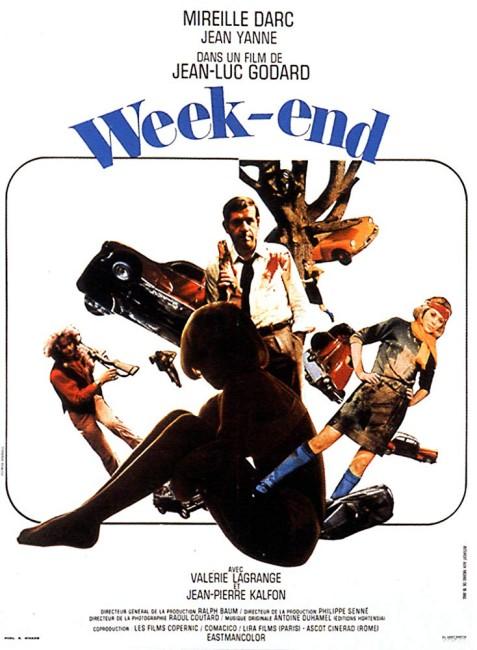 Weekend (1967) poster