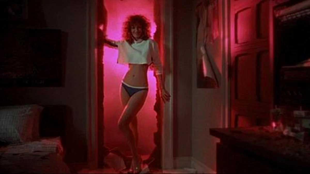 Kelly LeBrock as the perfect woman Lisa in Weird Science (1985)