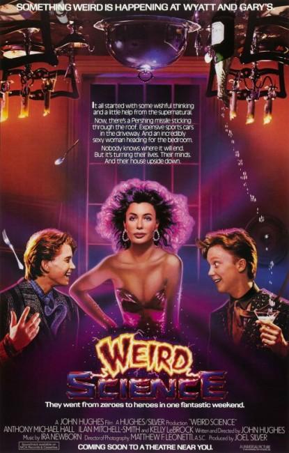 Weird Science (1985) poster