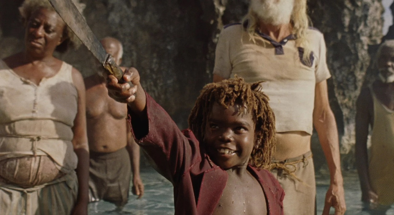 Yashua Mack as Peter Pan in Wendy (2020)
