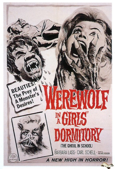 Werewolf in a Girl's Dormitory (1961) poster