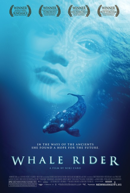Whale Rider (2002) poster