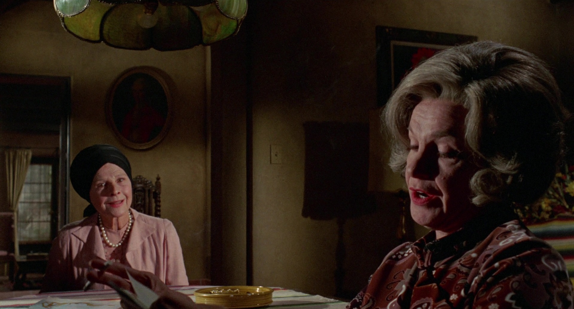 Ruth Gordon and Geraldine Page in What Ever Happened to Aunt Alice? (1969)