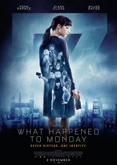 What Happened to Monday (2017) poster