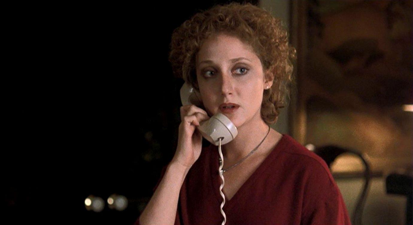 Carol Kane as the stalked babysitter in When a Stranger Calls (1979)