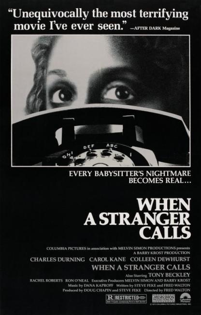 When a Stranger Calls (1979) poster