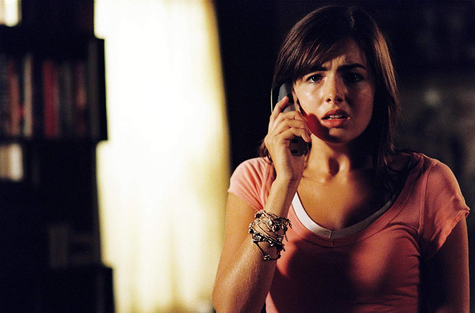 Camilla Belle harassed by a mystery caller in When a Stranger Calls (2006)