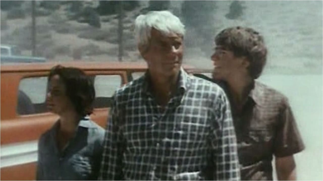 The only people left in a deserted world - (l to r) Kathleen Quinlan, Peter Graves and George O'Hanlon, Jr. in Where Have All the People Gone (1974)