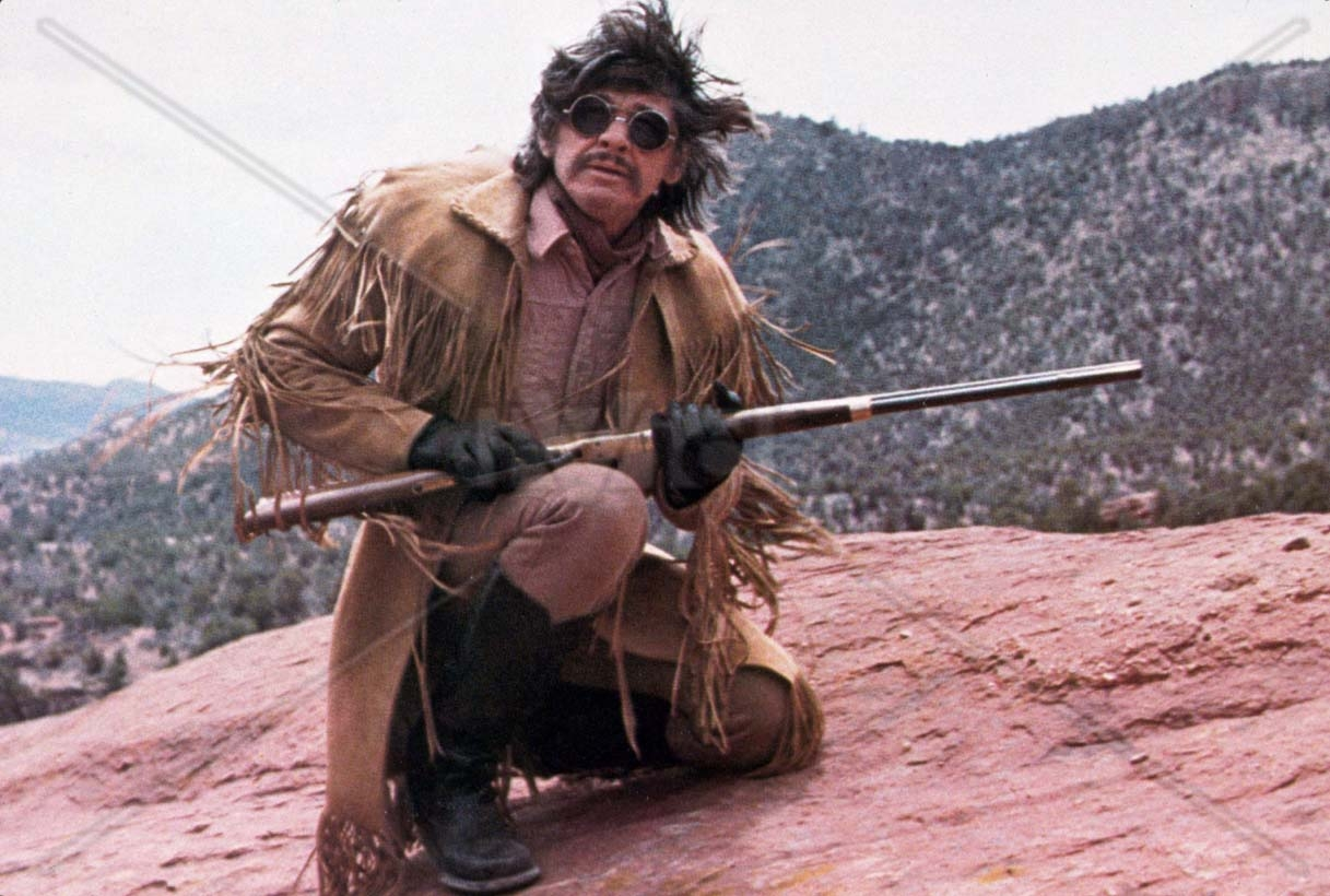 Charles Bronson as Wild Bill Hickok in The White Buffalo (1977)