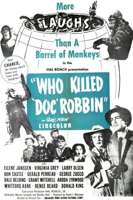 Who Killed Doc Robbin (1948) poster