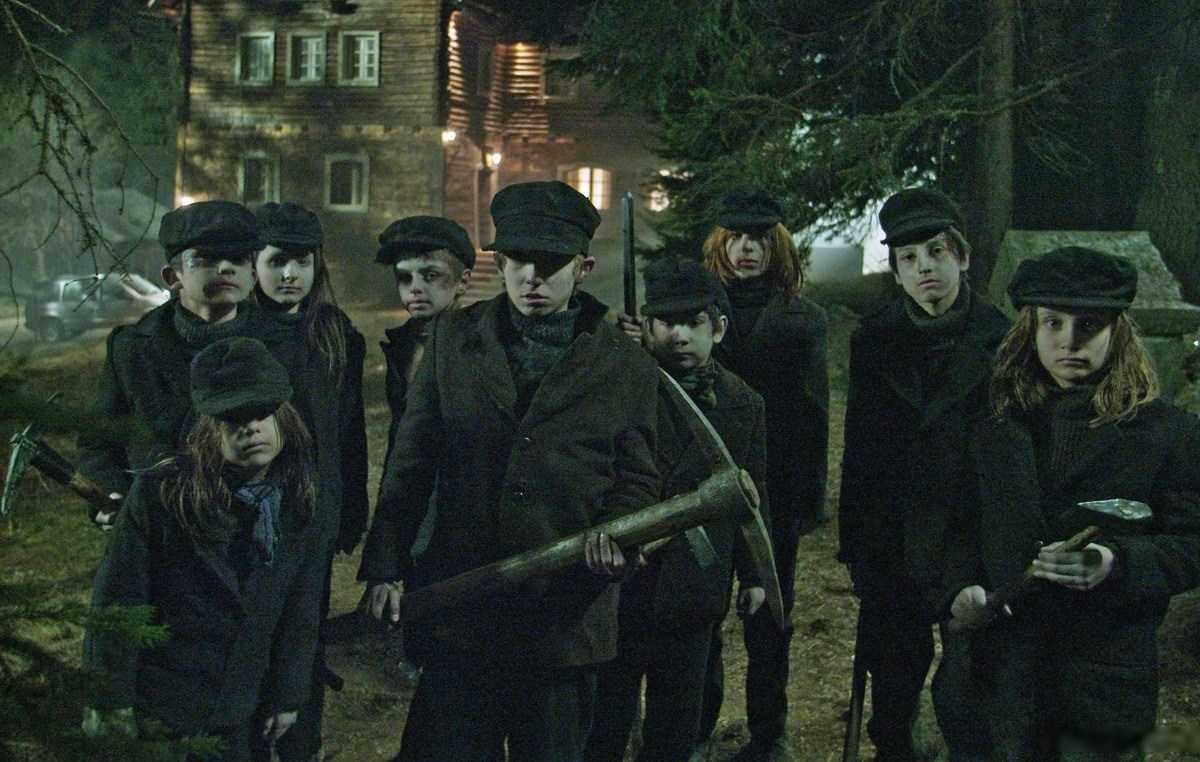 The zombies of children killed in a mining disaster in Wicked Little Things (2006)