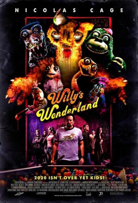 Willy's Wonderland (2021) poster