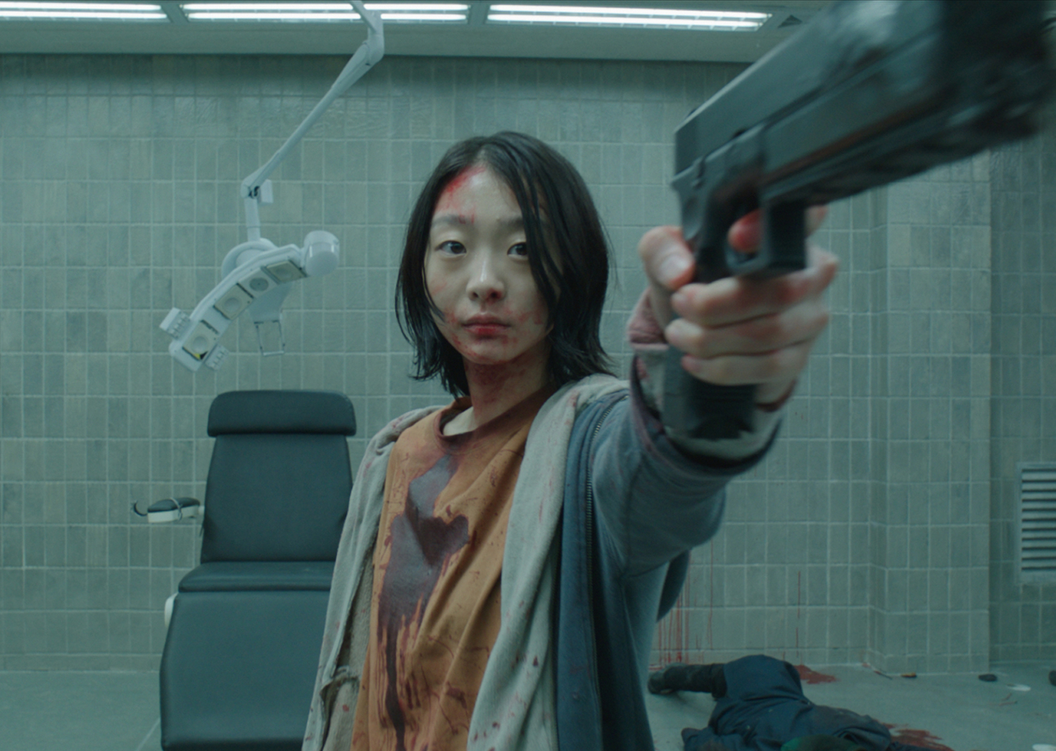 The psychically gifted Ja-yoon (Kim Da-me) in The Witch: Part 1 – Subversion (2018)