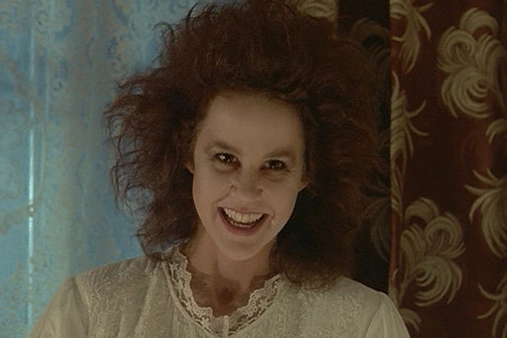 A possessed Linda Blair in Witchery (1988)