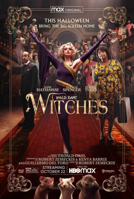 The Witches (2020) poster