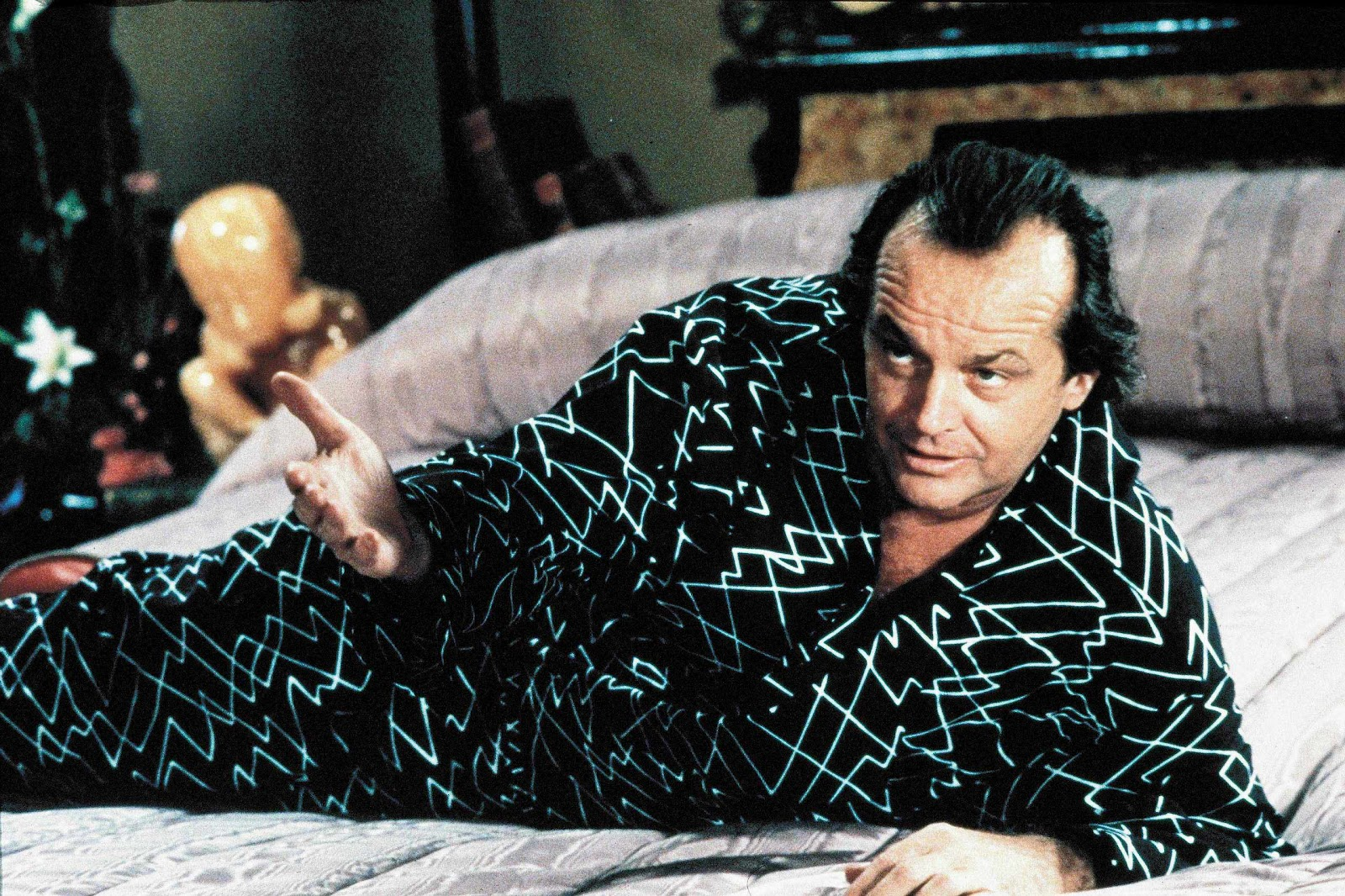 The Devil incarnate in the form of Daryl Van Horne (Jack Nicholson) in The Witches of Eastwick (1987)
