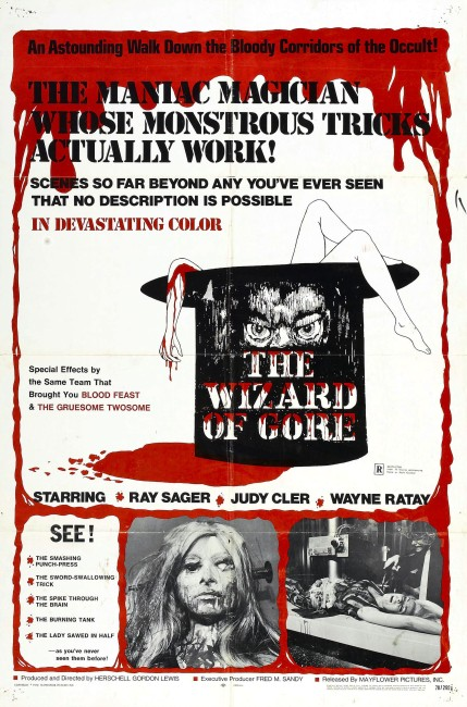 The Wizard of Gore (1970) poster