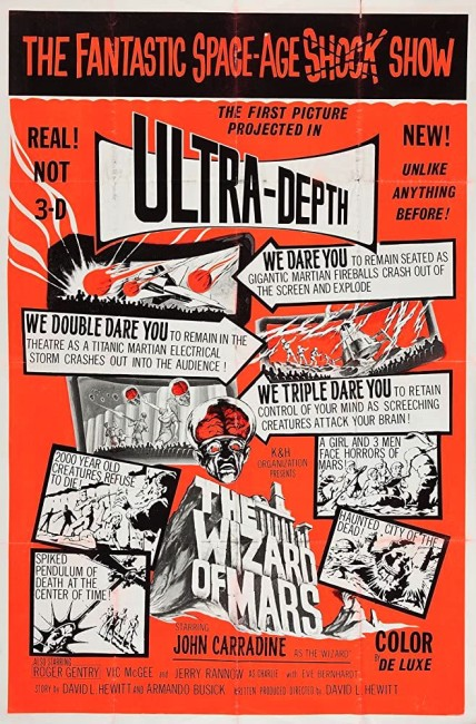 The Wizard of Mars (1965) poster