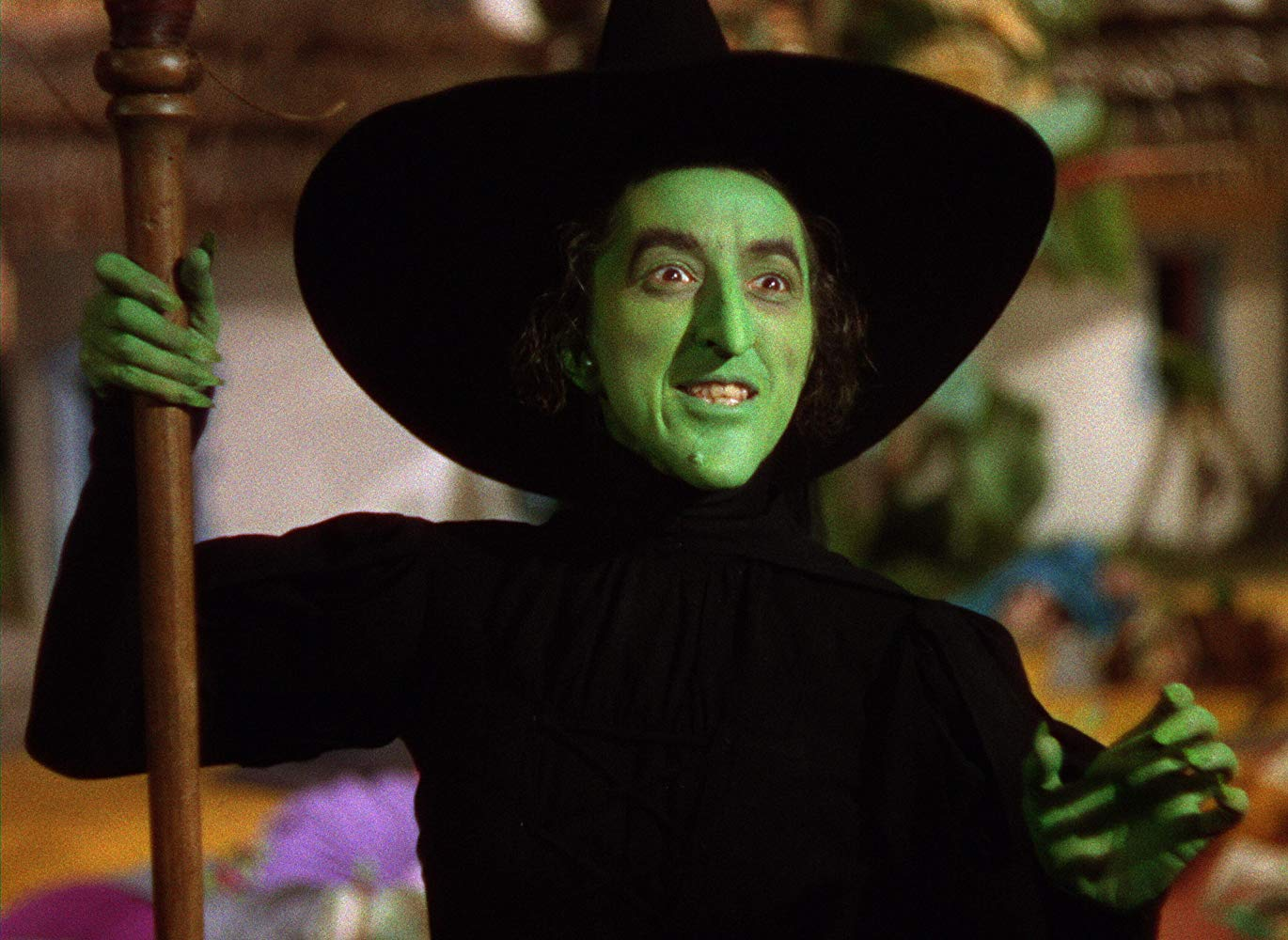 The Wicked Witch of the West (Margaret Hamilton) in The Wizard of Oz (1939)