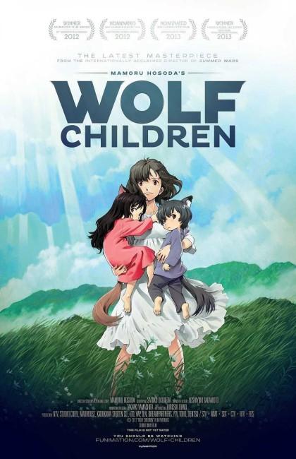 Wolf Children (2012) poster