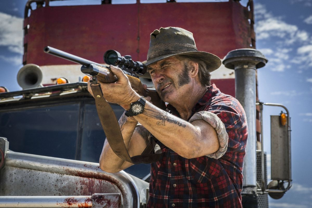 John Jarratt as Mick in Wolf Creek 2 (2013)