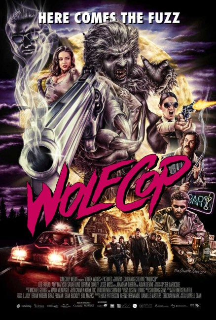 WolfCop (2014) poster