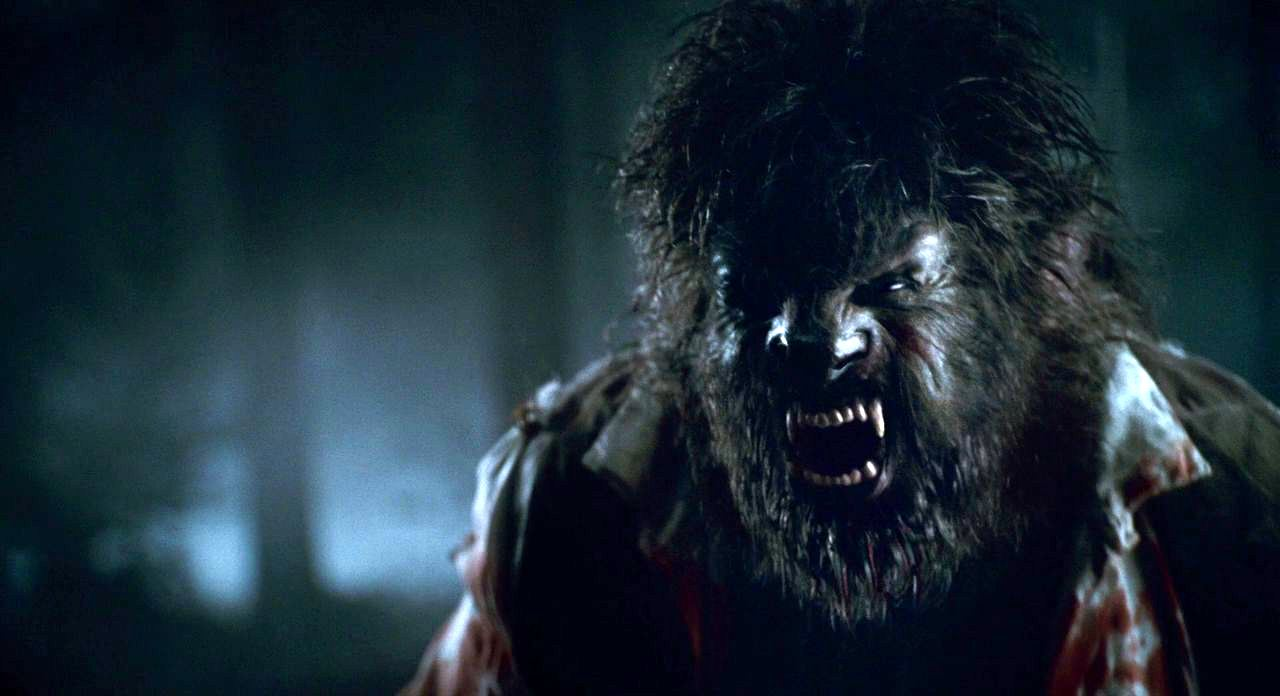 The werewolf with state of the art transformation effects from Rick Baker in The Wolfman (2010)
