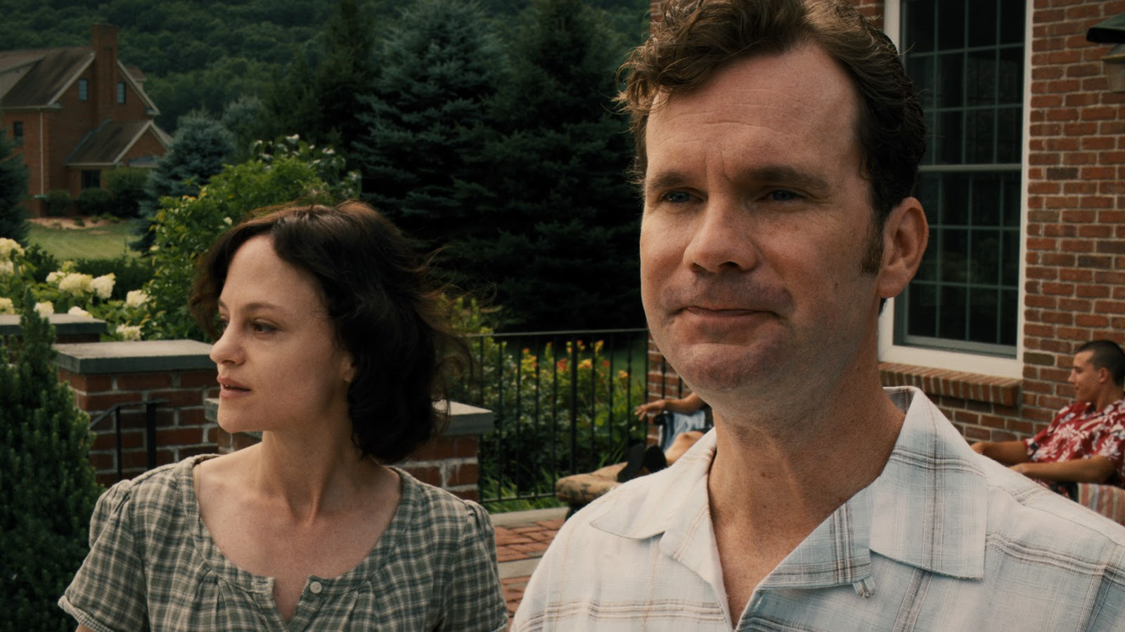 Wife Angela Bettis and husband Sean Bridgers in The Woman (2011)
